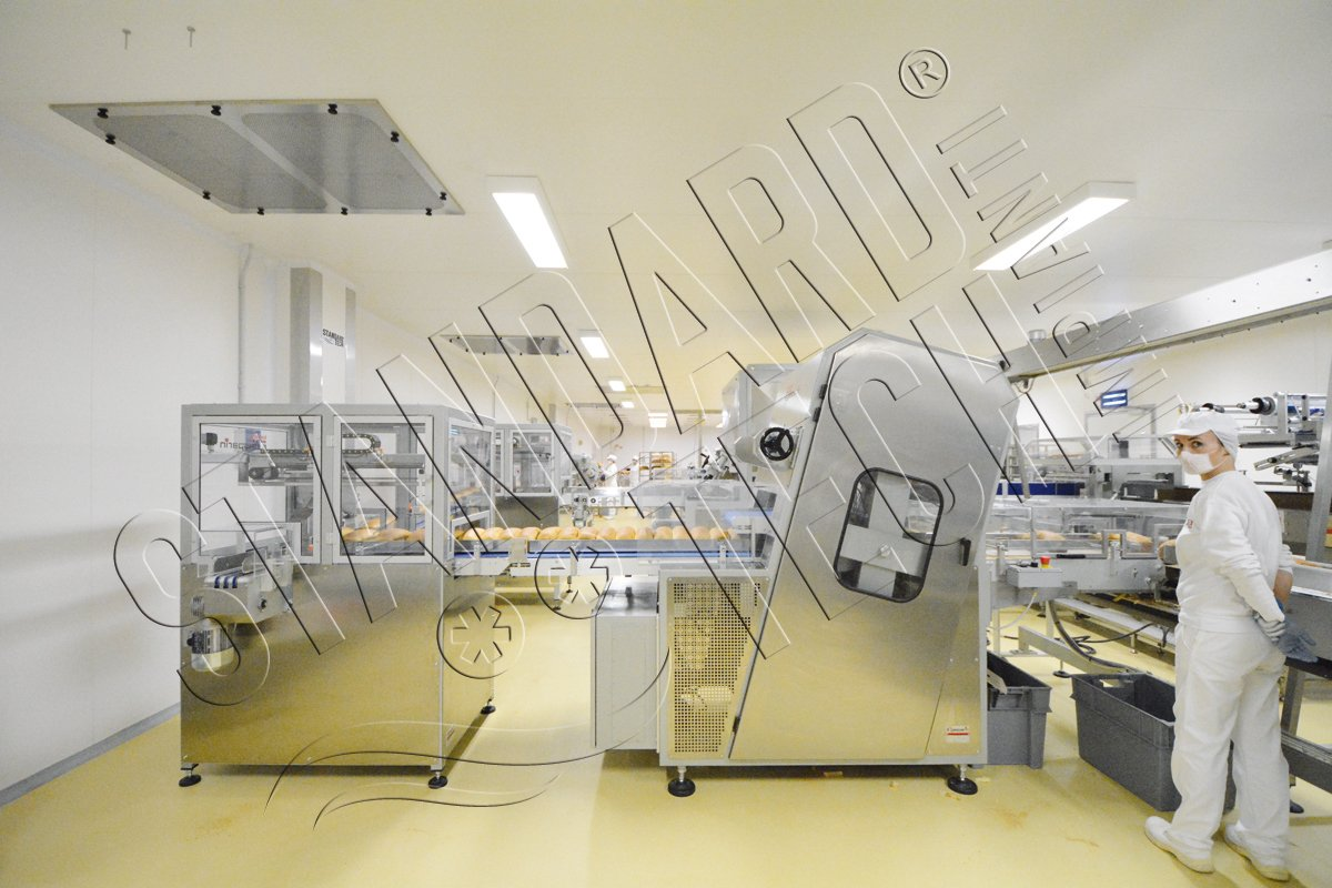 clean room for food processing
