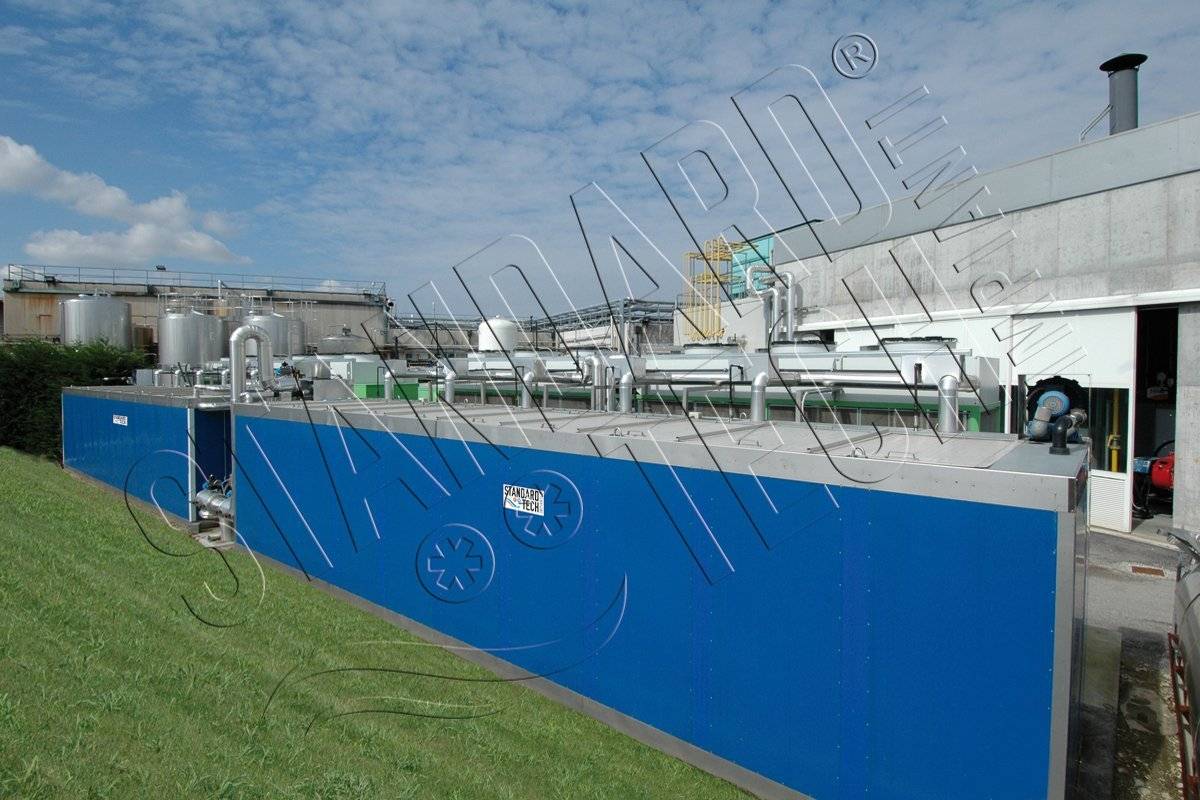Ice Bank Tank For Chilled Water