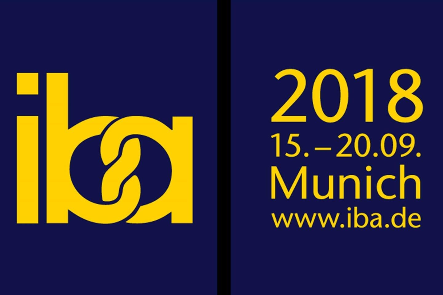IBA 2018 THE WORLD'S LEADING TRADE FAIR FOR BAKERY, CONFECTIONERY AND SNACKS